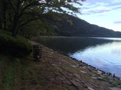 奥琵琶湖の菅浦方面